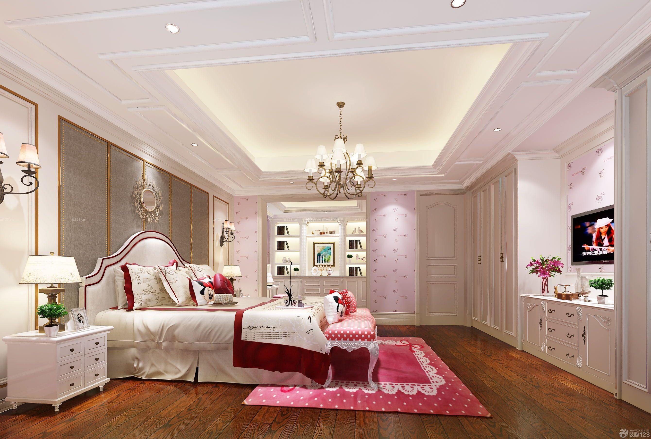 卧室吊顶设计装修效果图欣赏