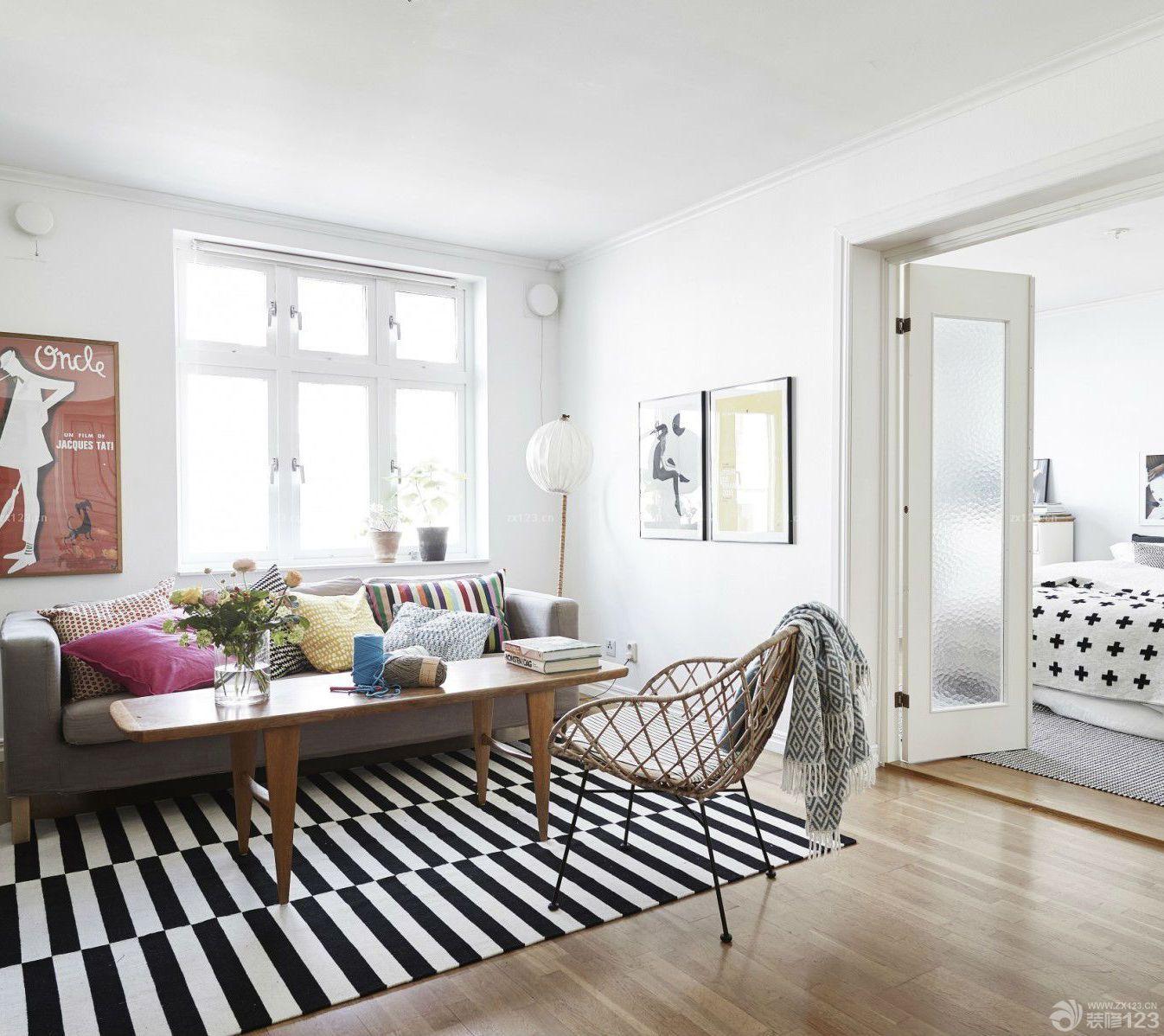 老房子小户型混搭风格室内装修效果图