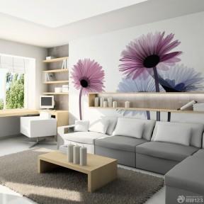 客廳墻紙圖片大全 緊湊小戶型裝修效果圖片