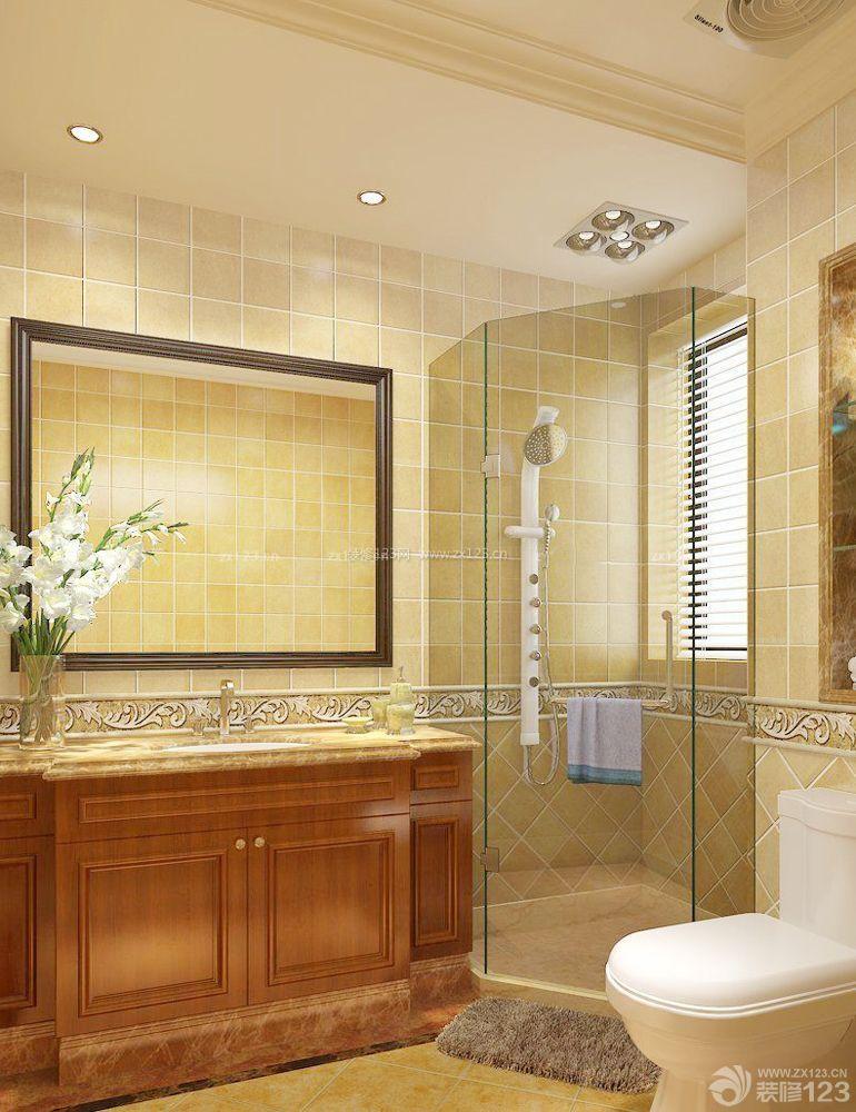 110房子 浴室装修设计图片大全_装修123效果图