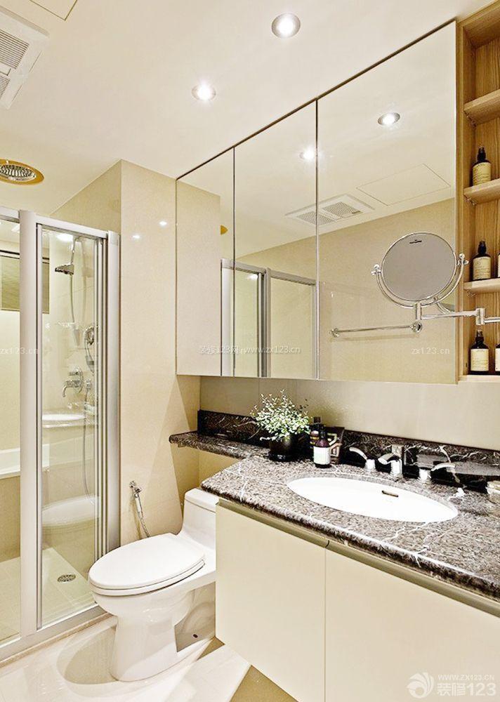 40平房子家装卫生间装修设计效果图片大全