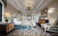 新古典別墅主臥室裝修設計