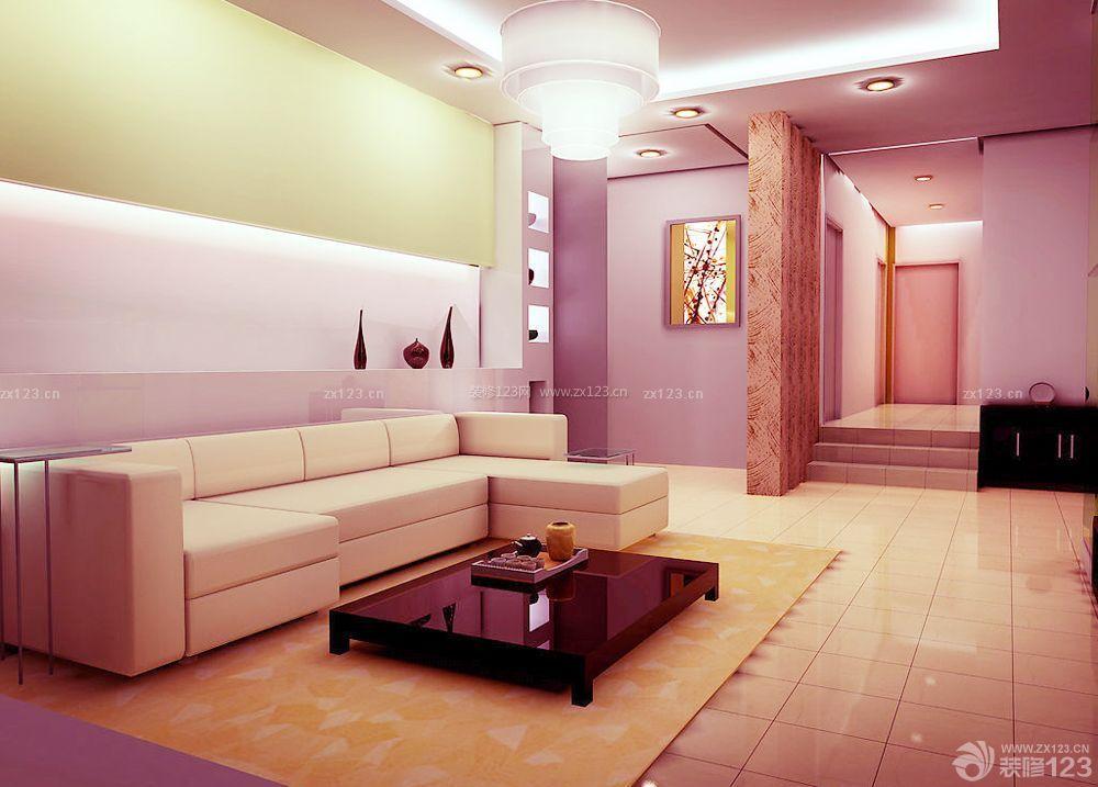 120平方房子转角沙发装修设计图片大全