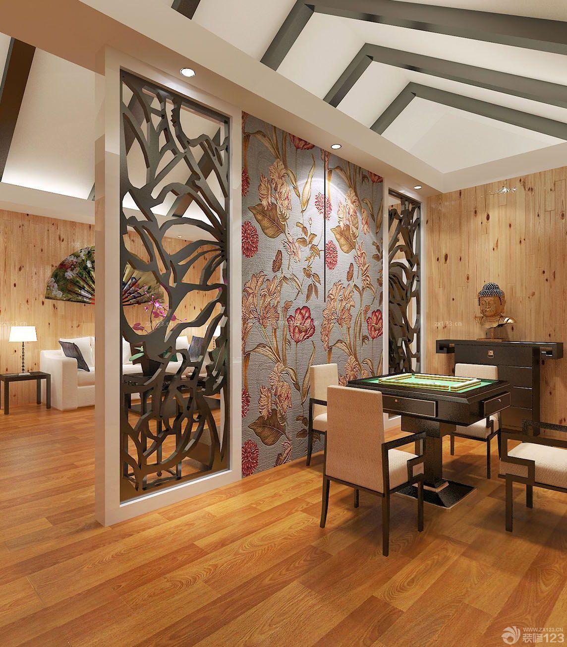 现代欧式家装隔断设计装修样板间40平方房子