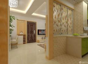 现代装修样板间40平方房子 家装隔断设计图片