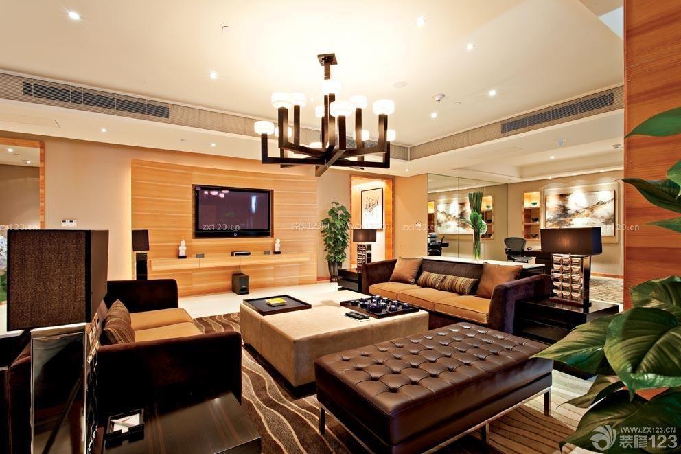 酒店室内设计套房客厅装修效果图