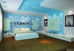 臥室壁紙裝修效果圖三室兩廳簡裝
