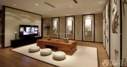 新中式別墅茶室設計圖片