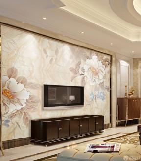 3d电视背景墙效果图-装修123网效果图大全