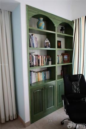 地中海風格家居設計  地中海書柜