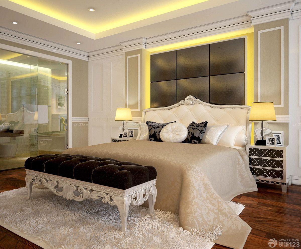 家装效果图 欧式 房子欧式床头背景墙装修设计图片大全80平方 提供者图片