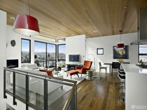 客廳簡單吊頂效果圖 半山別墅