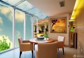 客廳陽臺裝修 陽臺遮陽棚裝修效果圖片