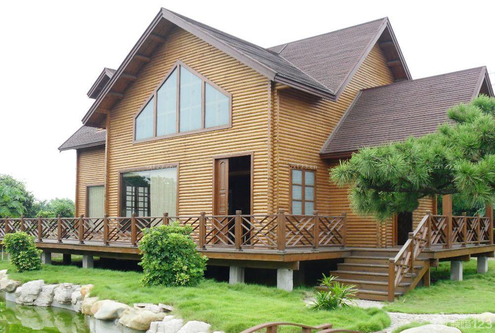 小型木屋别墅窗户设计效果图