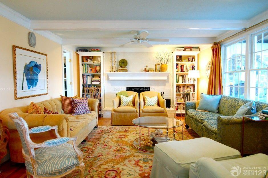 温馨家装房子客厅装修设计图片大全