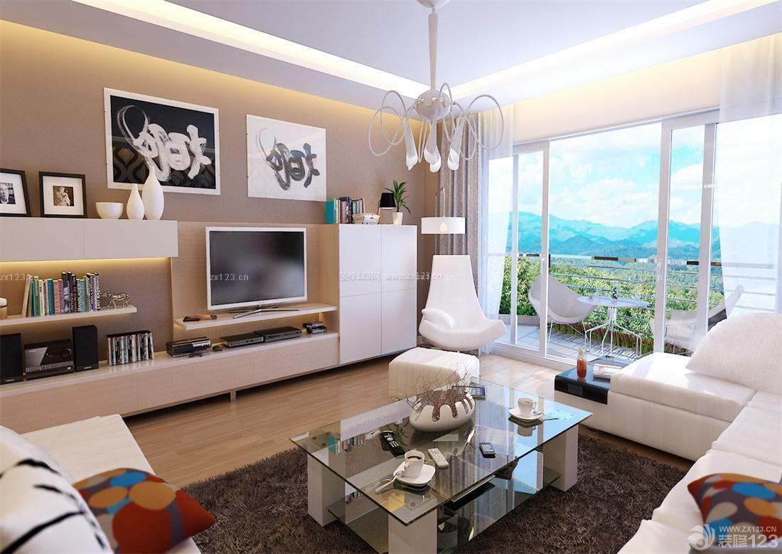 房子装修设计图片大全110平电视背景墙效果图欣赏
