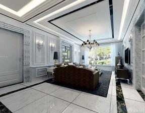 房子裝修設計圖片大全一層 大理石踢腳線效果圖