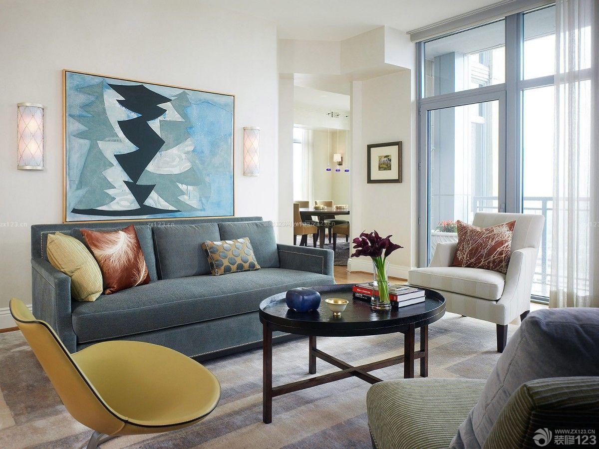 家装80平方米三室一厅装修客厅设计