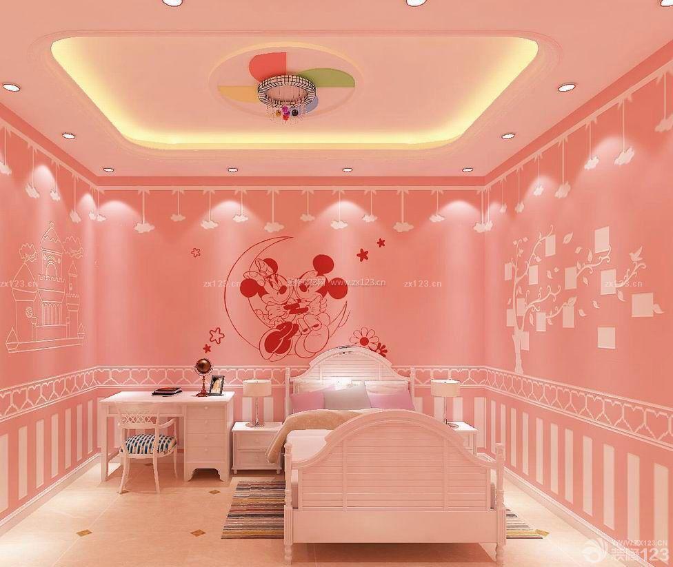 房子温馨女孩卧室装修设计图片大全93