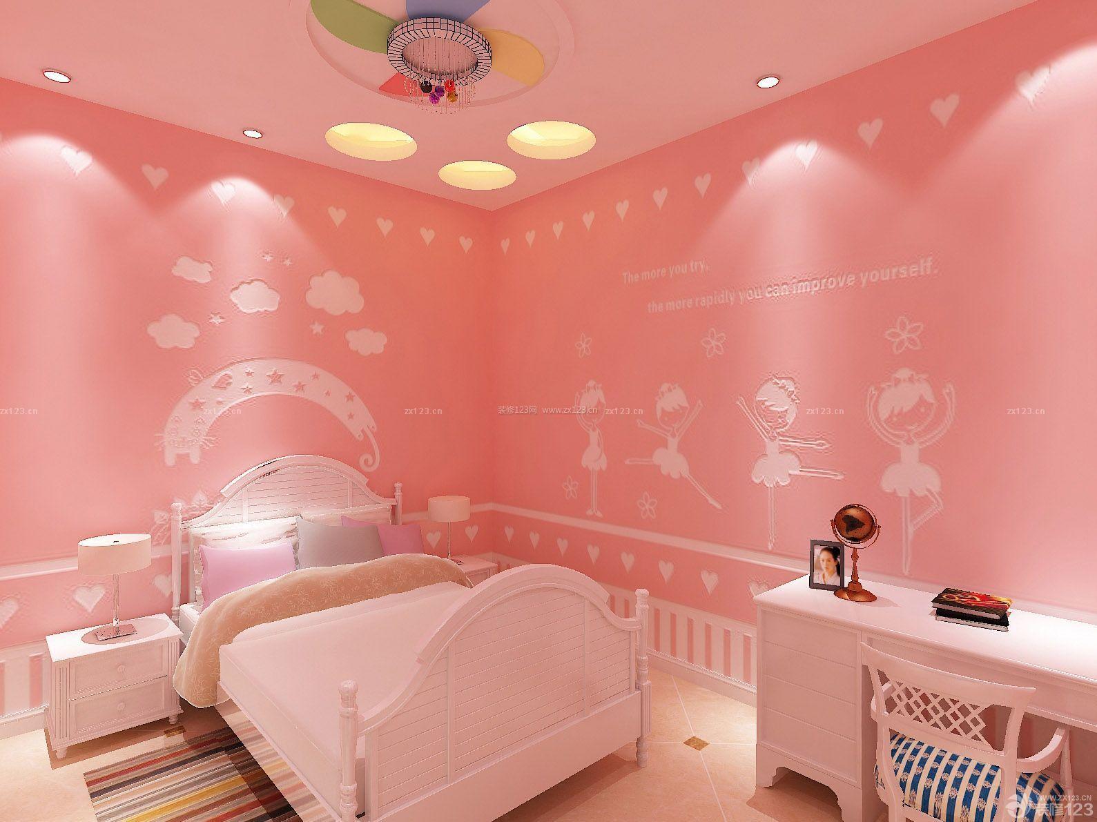 温馨房子公主卧室装修设计图片大全93