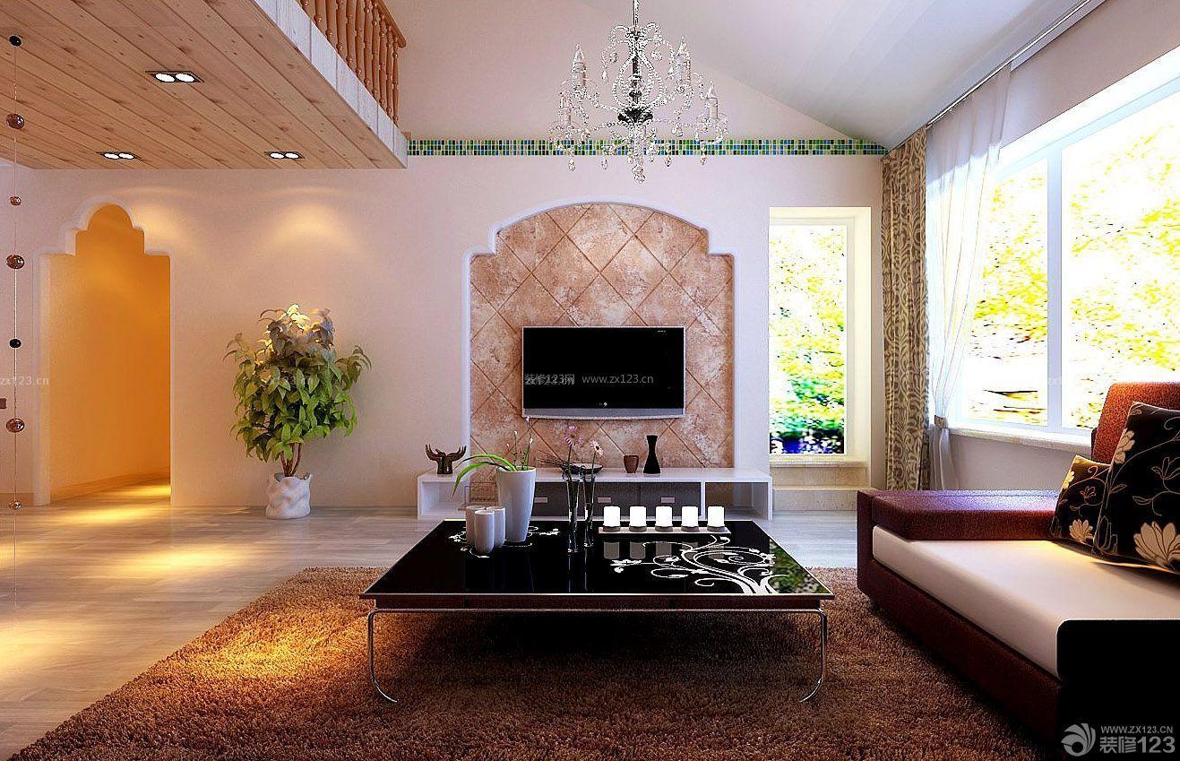 小复式房子楼装修设计图片大全125平图片