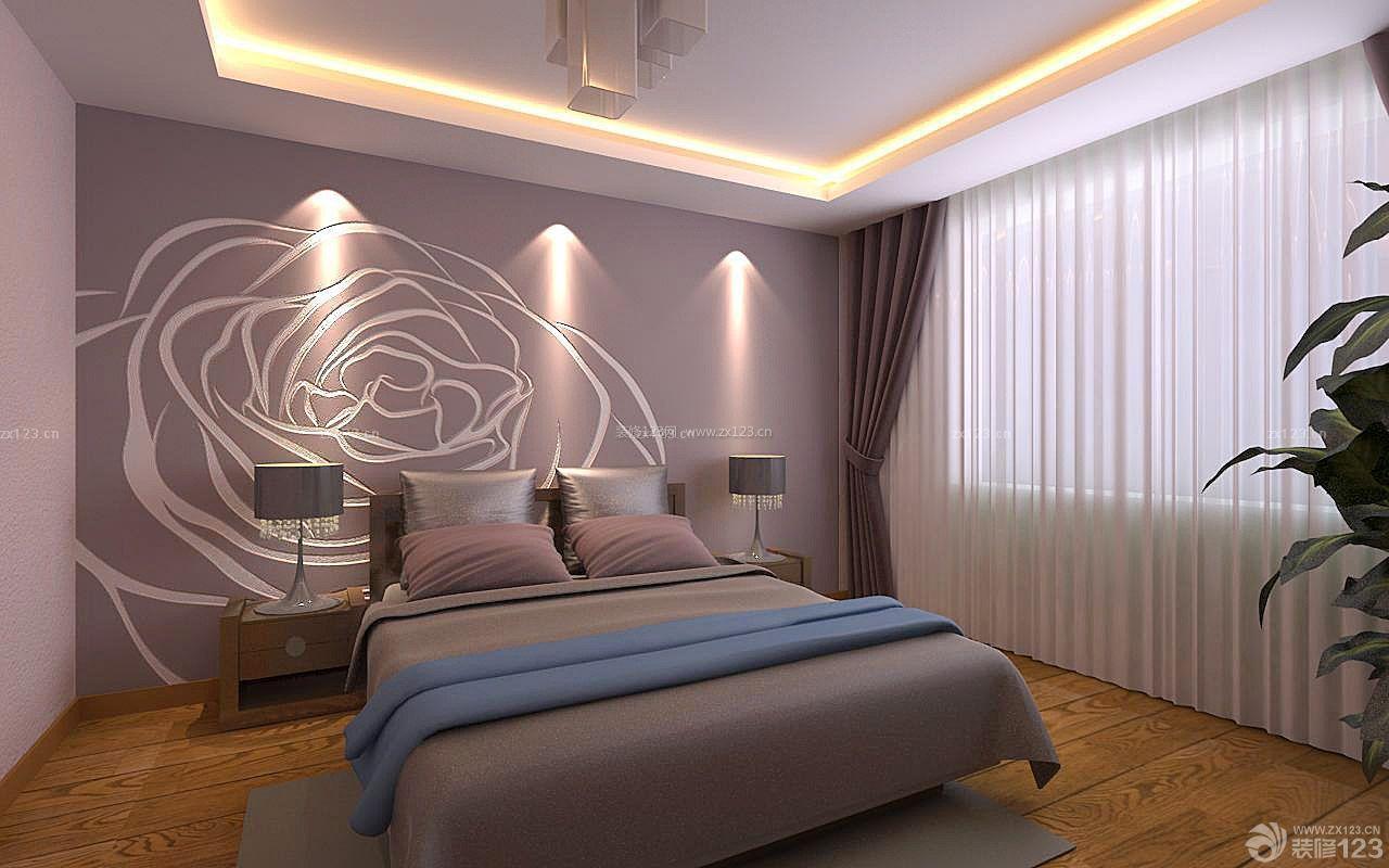 房子装修床头欧式背景墙设计图片大全93图片