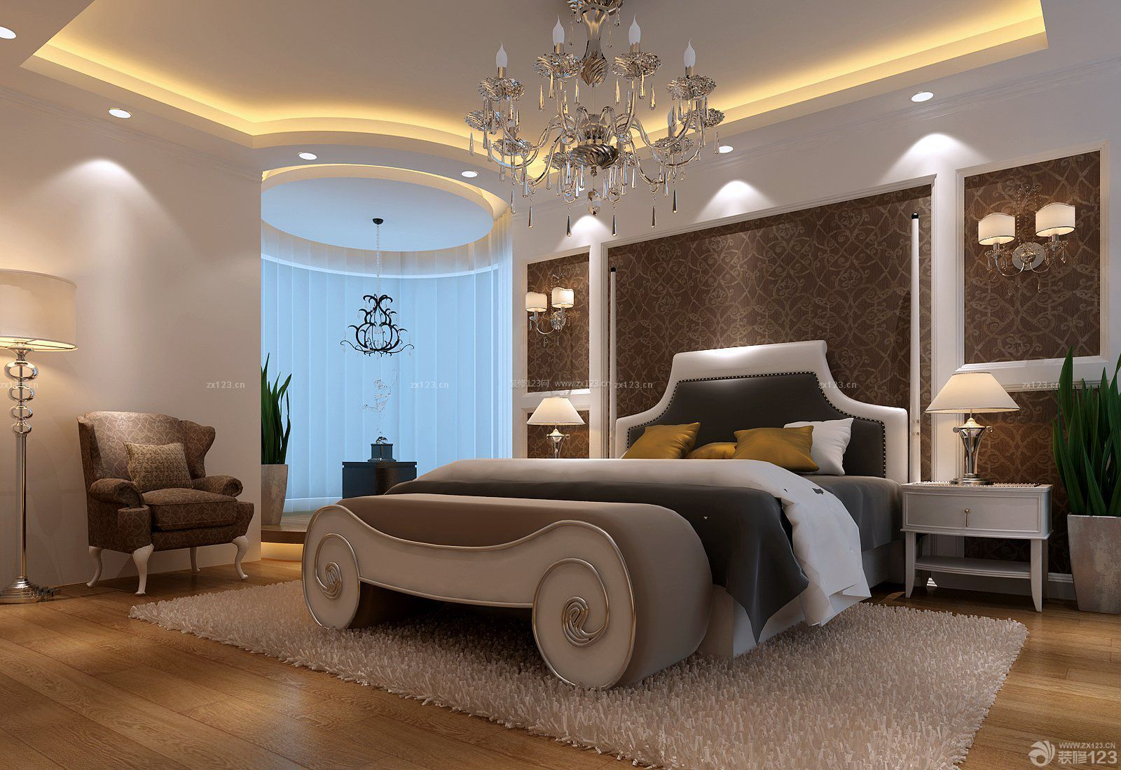欧式房子卧室装潢装修有什么可以免费领红包图片大全93