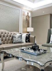 现代欧式混搭风格客厅装饰效果图欣赏