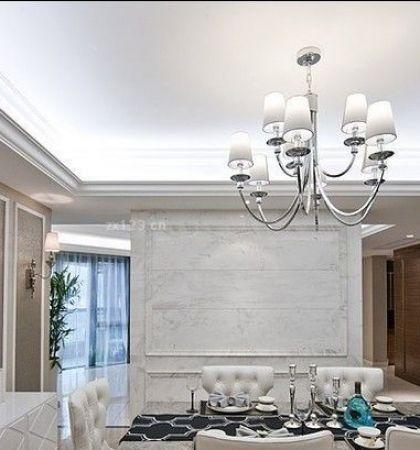 现代欧式设计风格吊灯装修效果图片