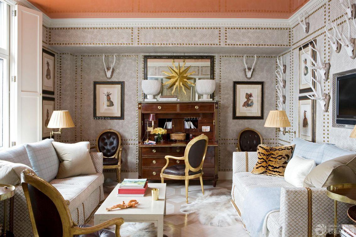 古典欧式风格八十平小户型装修图欣赏