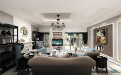 房子北歐簡約風格客廳裝修設計圖片大全125平