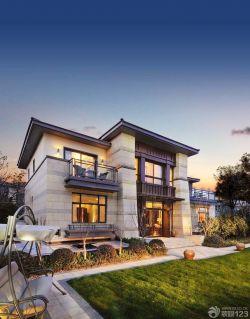 两层别墅房屋装修设计外观图片大全欣赏