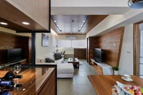 現代客廳吊頂 66平米小戶型
