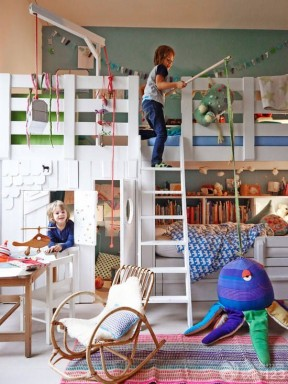 兒童房顏色搭配 裝飾兒童房