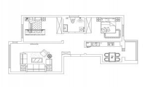兩居室房屋裝修效果圖 房子設計