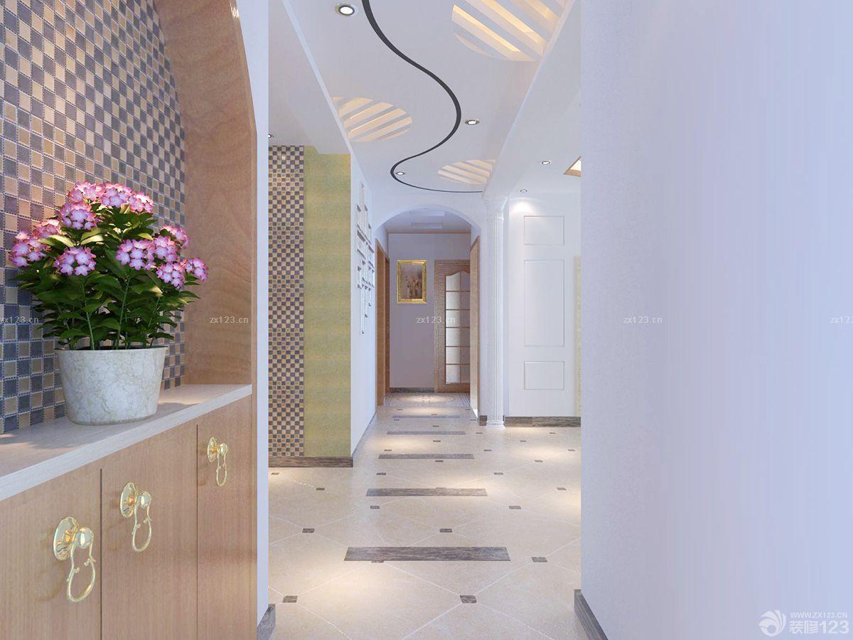 简约欧式风格房间通道瓷砖设计样板大全