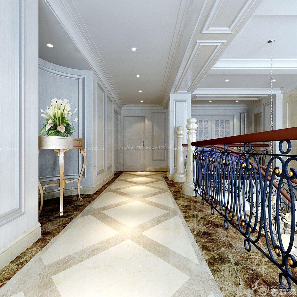 经典房间通道瓷砖拼花地砖设计装修效果图片欣赏
