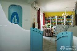 地中海裝飾風格客廳裝修設計圖