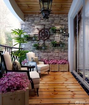 交换空间阳台设计 阳台花园装修效果图