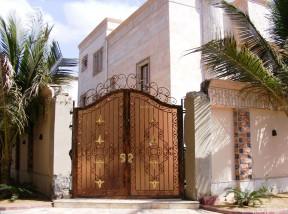 別墅外圍墻門柱設計 現代別墅