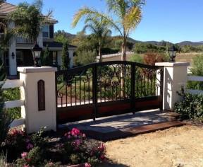 別墅外圍墻門柱設計 農村別墅設計大全