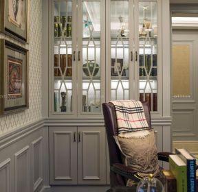 美式家居風格美式轉角書柜-每日推薦