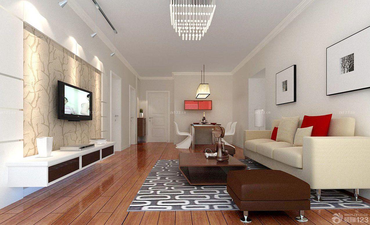 现代简约式家装电视背景墙装修效果图大全2015图片图片