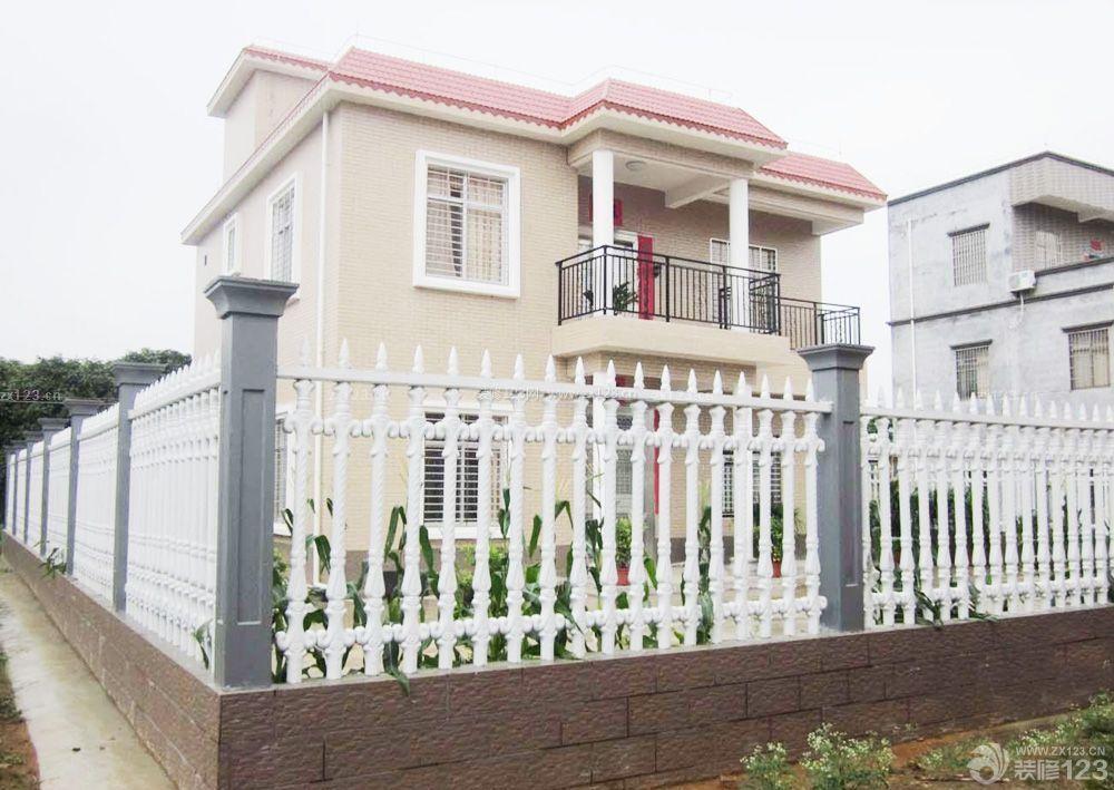 自建别墅围墙护栏设计效果图片
