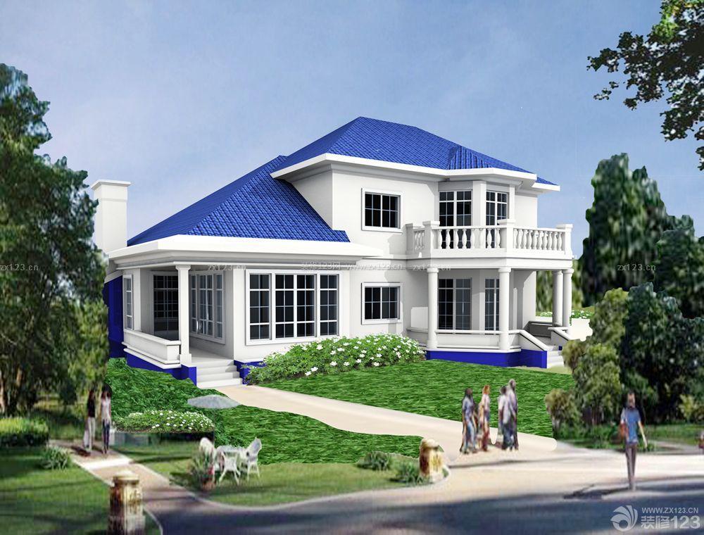 农村自建房琉璃瓦房设计效果图
