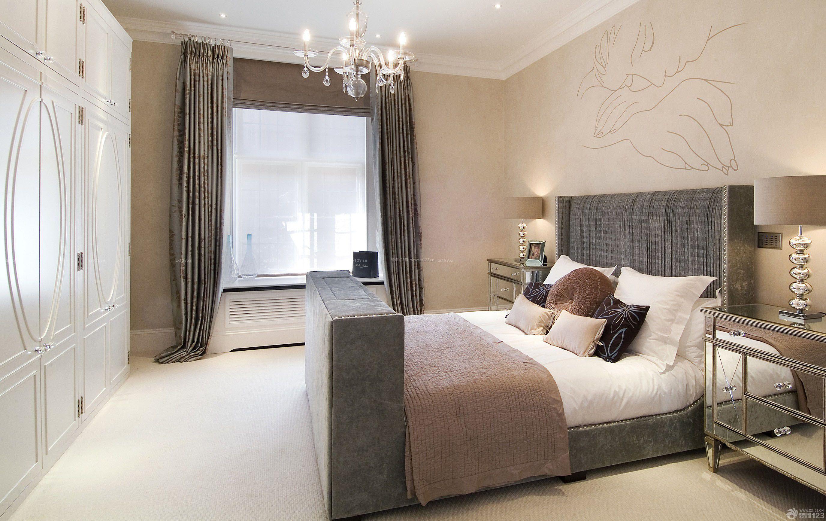 卧室北欧风格衣柜装修效果图片