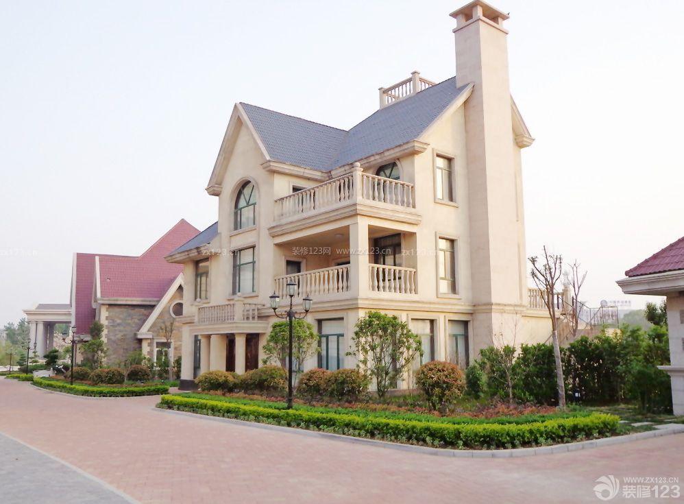 农村自建别墅设计琉璃瓦房效果图