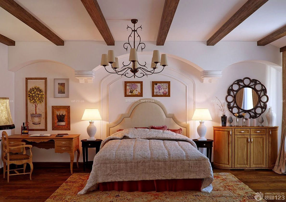 卧室小房子大空间的设计图展示图片