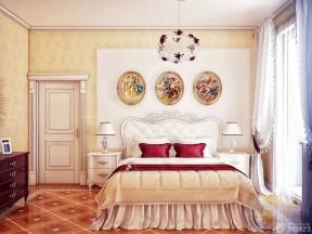 80平米房子裝修設計圖 歐式花紋壁紙裝修效果圖片