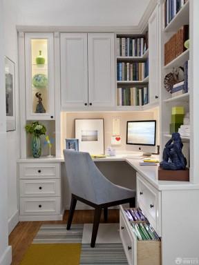 80平米房子裝修設計圖 實木書柜圖片